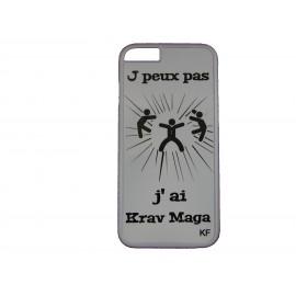 "Coque smart phone ""J peux pas j ai Krav Maga"""