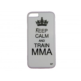 "Coque smartphone ""Keep calm and train MMA"""