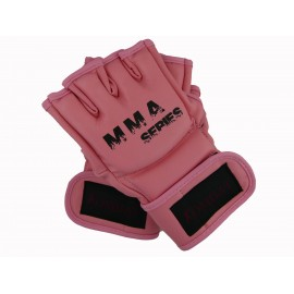 Gants MMA ouverts rose