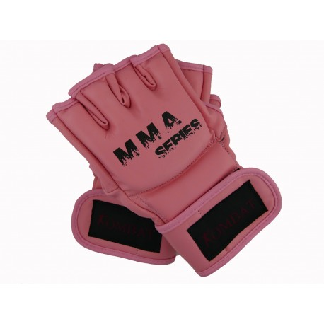 Gants MMA ouverts rose