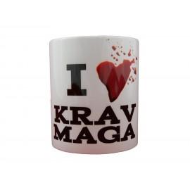 Mug I love Krav Maga