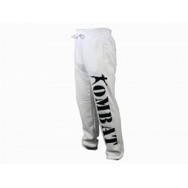 Pantalon de jogging blanc Kombat