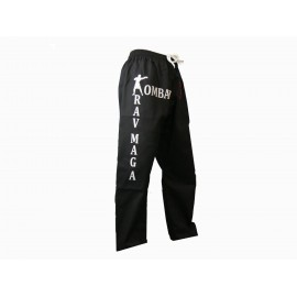 Pantalon d'entrainement Krav Maga noir