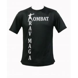T-shirt microfibres d entrainement Krav Maga