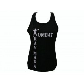 Female training tank top.