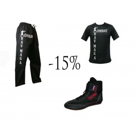Pack tenue Krav Maga