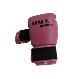 Gants fermés MMA rose