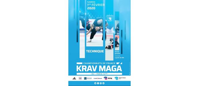 Championnat de France de Krav Maga 2020